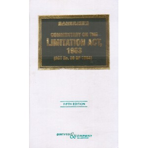 Dwivedi & Company's Commentary on The Limitation Act, 1963 [HB] by A. K. Banerjee