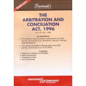 Dwivedi & Company's The Arbitration and Conciliation Act, 1996 Bare Act