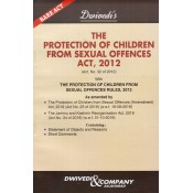 Dwivedi & Company's The Protection of Children From Sexual Offences Act, 2012 Bare Act [POCSO]