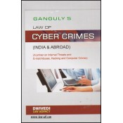 Dwivedi Law Agency's Law of Cyber Crimes (India & Abroad) by Adv. D. K. Ganguly
