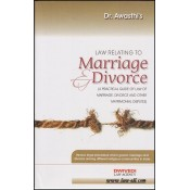 Dwivedi Law Agency's Law relating to Marriage & Divorce [HB] By Dr. S. K. Awasthi