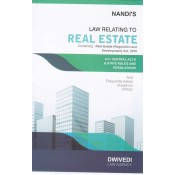 Dwivedi Law Agency's Law Relating to Real Estate [HB] by N. Nandi