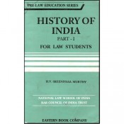 Eastern Book Company's [EBC] History of India Part - I For B.S.L by H. V. Sreenivasa Murthy