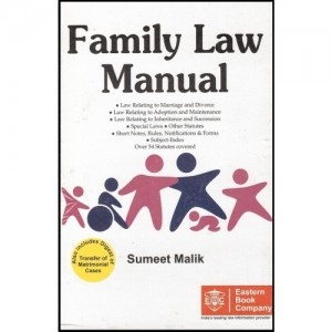 Eastern Book Company's Family Law Manual [HB] by Sumeet Malik