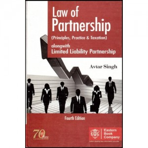 Eastern Book Company's Law Of Partnership (Principles Practice & Taxation) [HB] by Avtar Singh