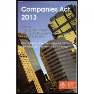 Eastern Book Company's Companies Act, 2013 with CD [Pocketsize]