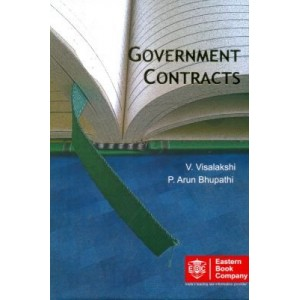 Eastern Book Company's Government Contracts by Dr. V. Visalakshi & Dr. P. Arun Bhupathi