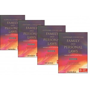 EBC's Supreme Court on Family and Personal Laws [HB 4 Vols.] by Surendra Malik, Sudeep Malik