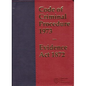 EBC's Code of Criminal Procedure 1973 with Evidence Act 1872 [Crpc Pocket]
