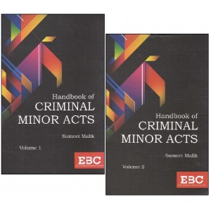 EBC's Handbook of Criminal Minor Acts by Sumeet Malik [2 HB Vols]