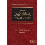 EBC's Judgments and How to Write Them [HB] by S. D. Singh | Judgement Writing for JMFC Exam