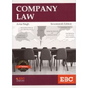 EBC's Company Law for BL/LLB Students by Dr. Avtar Singh