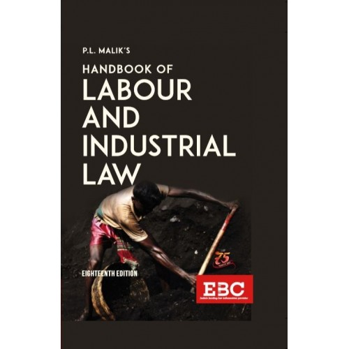 Eastern Book Company's Handbook of Labour & Industrial Law [HB] by P. L. Malik