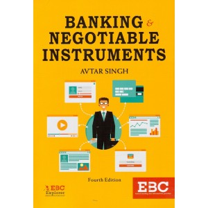 Eastern Book Company's Banking & Negotiable Instruments by Adv. Avtar Singh