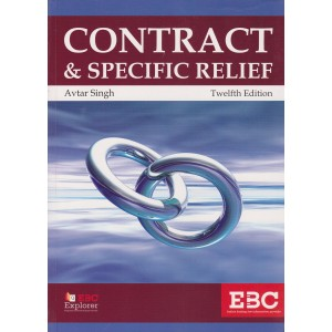 Eastern Book Company's Contract & Specific Relief by Avtar Singh