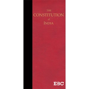 EBC's The Constitution of India by Gopal Sankaranarayanan [Leather Coat Pocket Edition]