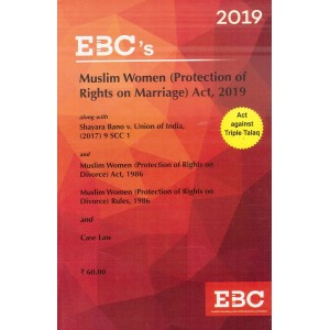 EBC's Muslim Women (Protection of Rights on Marriage) Act, 2019 | Act Against Triple Talaq