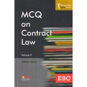 EBC's MCQ on Contract Law II by Joshua Aston | Competitive Exam Series [Edn. 2020]