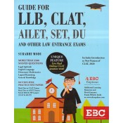 EBC's Guide for LLB, CLAT, AILET, SET, DU and Other Law Entrance Exams 2020 by Surbhi Modi | Eastern Book company