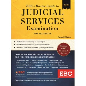 EBC's Master Guide to Judicial Services Examination 2020 for All States | JMFC