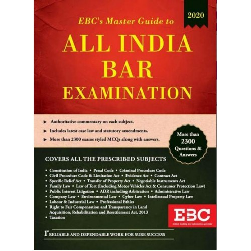 EBC's Master Guide To All India Bar Examination [AIBE-2020 Edition]