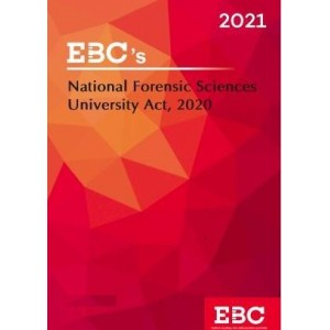 EBC's The National Forensic Sciences University Act, 2020 Bare Act 2021