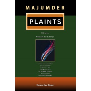 Majumder's Plaints [HB] by Purnendu Bhattacharyya | Eastern Law House