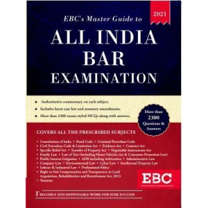 EBC's Master Guide To All India Bar Examination [AIBE-2021 Edition]