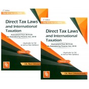 GPC Publication's The RCC for CA Final Direct Tax Laws and International Taxation Nov 2019 Exam by CA. Ravi Chhawchharia [2 Vols. For Old & New Syllabus]