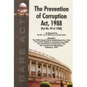 Gogia Law Agency's The Prevention of Corruption Act, 1988 Bare Act