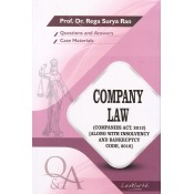 Gogia Law Agency's Questions & Answers on Company Law for LL.B by Prof. Dr. Rega Surya Rao