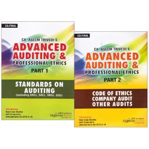 CA. Aseem Trivedi's Advanced Auditing & Professional Ethics [Part 1 & 2] for CA. Final Nov. 2017 Exam