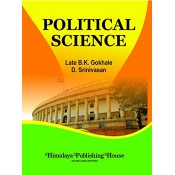 Himalaya's Political Science (Theory & Governmental Machinary) For B.S.L by Late B. K. Gokhale, D. Srinivasan