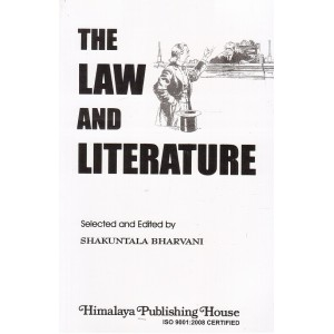 Himalaya Publishing House's The Law & Literature For LL.B by Shakuntala Bharvani