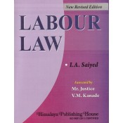 Himalaya Publishing House's Labour Law by I. A. Saiyed