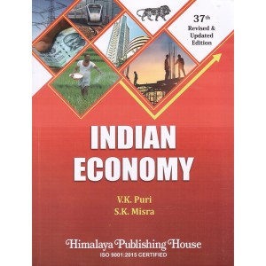 Indian Economy by V. K. Puri & S. K. Misra | Himalaya Publishing House