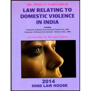 Dr. Pooja P. Narwadkar's Law Relating to Domestic Violence in India by Hind Law House