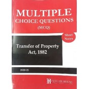 Hind Law House's Multiple Choice Questions [MCQ] on Transfer of Property Act, 1882 [Edn. 2020-21]