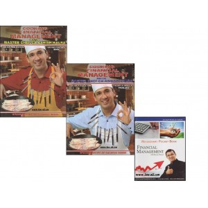 IGP's Cooking Financial Management With Revisionary Pocket [Set of 2 Vols] for CA, CS by Masterchef CA. Ashish Kalra