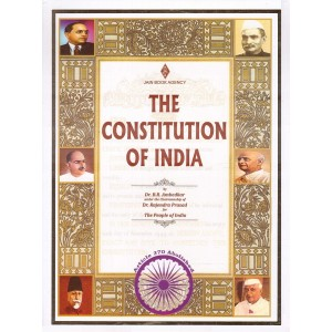 Jain Book Agency's The Constitution of India [HB] by Dr. B. R. Ambedkar, Dr. Rajendra Prasad