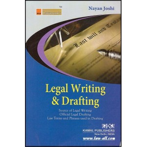 Kamal Publishers - Lawmann's Legal Writing & Drafting by Adv. Nayan Joshi