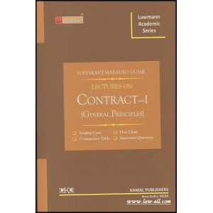 Kamal Publishers Lawmann Academic Series Lectures on Contract-I for B.S.L & L.L.B by Adv. Suryakant Mahadeo Gujar