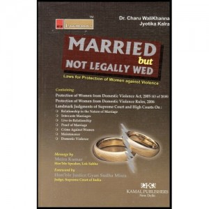Kamal Publisher's Lawmann's Married but Not Legally Wed by Dr. Charu Walikhana & Jotika Kalra