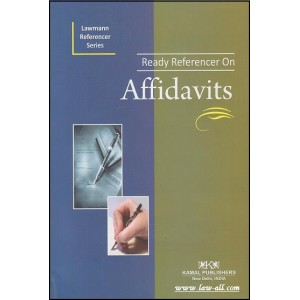 Ready Referencer on Affidavits | Kamal publishers - Lawmann