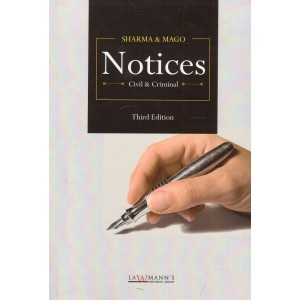Lawmann's Notices (Civil & Criminal) by K. M. Sharma & S. P. Mago | Kamal Publisher