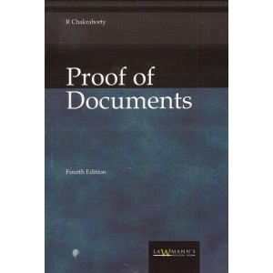 Lawmann's Proof of Documents by Adv. R. Chakraborty | Kamal Publisher