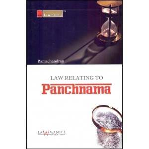 Lawmann's Law Relating to Panchnama by Ramachandran for Kamal Publishers