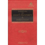 Lawmann's Digest on Joint Property & Partition [HB] by M. L. Bhargava for Kamal Publishers