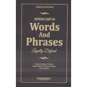 Lawmann's Supreme Court on Words and Phrases Legally Defined by R. Ramachandran | Kamal Publishers