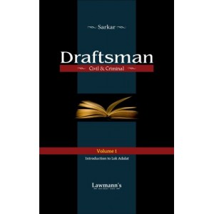 Sarkar's Draftsman (Civil and Criminal) by Kamal Publishers | Lawmann [2 Vols.]